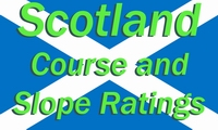 Scotland Course and Slope Ratings